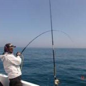 海钓 钓到大鱼后怎么上岸