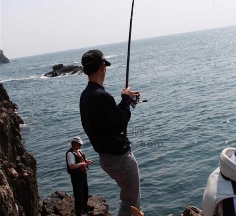 福建台山列岛海钓活动照片