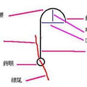 (图)怎么绑鱼钩和绑鱼线