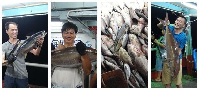 7月28号文昌井海钓渔获